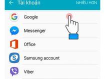 Cách xóa tài khoản Google khỏi CH Play trên Android 2021