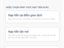 6 Cách Nạp Tiền vào Viettelpay: ví điện tử, tài khoản intenet banking ngân hàng