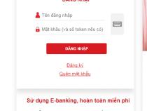 Cách đăng nhập tài khoản Techcombank online trên điện thoại