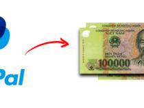 Cách chuyển tiền từ Paypal sang momo, tài khoản ngân hàng, rút tiền